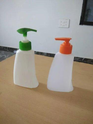 Plastic Hand Wash Pump Bottle