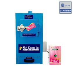 College Use Sanitary Napkin Incinerator Machines