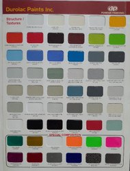 Structure powder coating