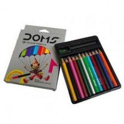 DOMS 12 HALF SIZE COLOUR PENCIL