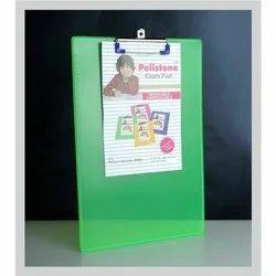 Green Plastic Exam Pad