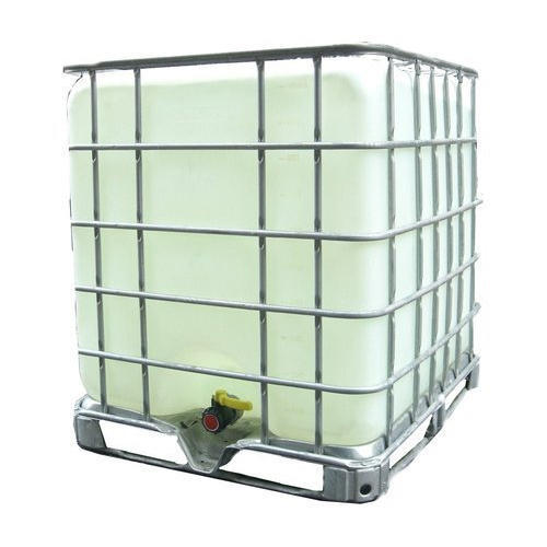 Stainless Steel White Intermediate Bulk Container, Capacity: 1000-5000 L