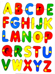 ABC Capital With Picture Puzzle