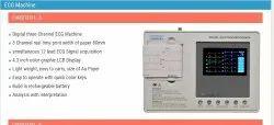 Biomedics 3 Channel Ecg Machine With Interpretation, Digital, Carditec 3i
