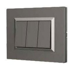 Acacia Series Magnesium Grey Switch Plate
