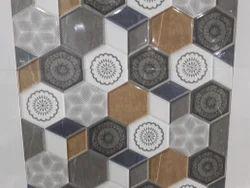 Ceramic Digital Wall Tiles, Thickness: 12 - 14 mm
