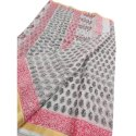 6.3 M (with Blouse Piece) Casual Printed Handloom Cotton Saree