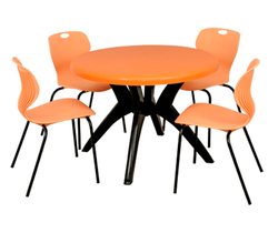 Fantasy with Bloom Table & Chairs