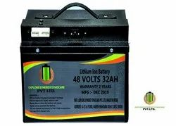 48V 32Ah Lithium Ion Battery for Electric Vehicles