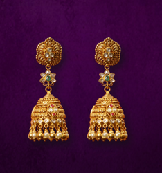 Golden Women Jhumka LP-004