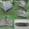 Camping Trekking Outdoor Automatic Tent -3 People-Camouflage