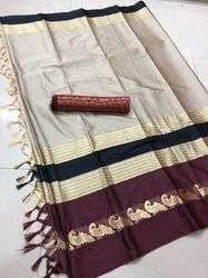 Ruchika Pure Cotton Silk Saree