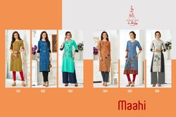 Diksha Fashion Maahi Vol 5 Rayon Printed Kurties