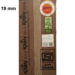19 mm 710 BWP Grade Kitply Gold Plywood