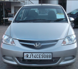 Grey 2008 Honda City Zx Exi Car