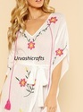 Embroidery Cotton Kaftan