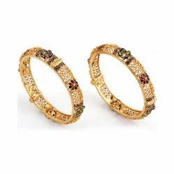 Gold Designer Bangles