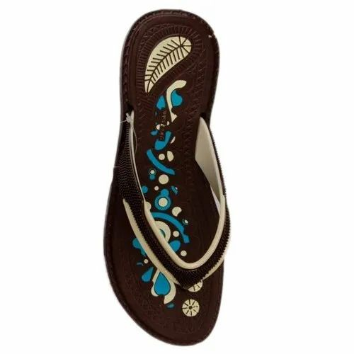 Swadeshi Daily Wear Womens Floral Printed Slippers