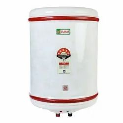 White Copper Tank Electric Water Heater, Warranty: 2 Years, Power: 0-2 (KW)