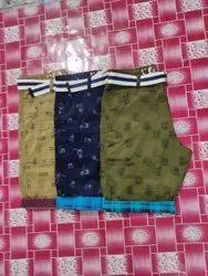 Satin Cotton Printed Two Quarter Pant, Machine Wash, Size: 28-32, 34-36