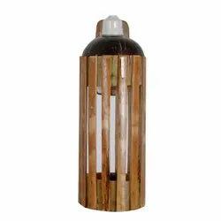 Handmade Bamboo Wall Hanging Light, Packaging Type: Box