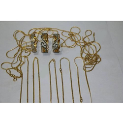 Artificial Jewellery Gold Plated PVD Coating Services