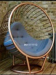 Fancy Metal Chair for Outdoor
