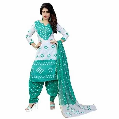 18d45f4449 Dhani Creation Printed Ladies Cotton Salwar Suit Dress Material, Rs ...