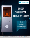 Automatic Omega 3d Printer For Jewellery Cam