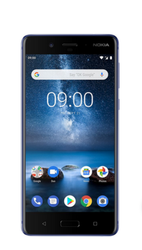 Black Nokia 8 Mobile Phone