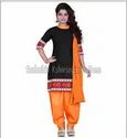 Multicolor Party wear Punjabi Suits