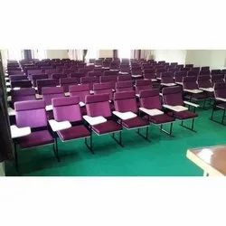 Seminar Writing Pad Maroon Chair