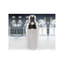 Silver Stainless Steel Deluxe Cocktail Shaker, Capacity: 250 To 750 Ml