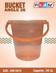 Angel 26 New Pearl Plastic Bucket