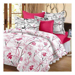 Printed Double Bed Sheet Set