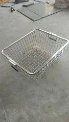 SS Utensils Kitchen Basket