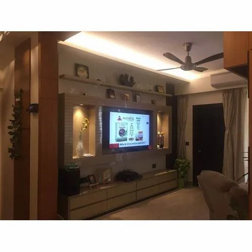 Wall Mounted Drawing Room Modern Tv Cabinet For Living Room Furniture Rs 55000 Square Feet Id 21169337130