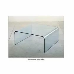 Duratuf 17 Architectural Bend Glass, Size: 8 Ft X 6 Ft