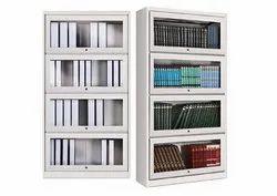 Verticle Steel Book Case, Size: 91.4 W X 32 D X174.20 H Cm