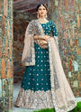 Art Silk Embroidery Work Designer Lehenga Choli
