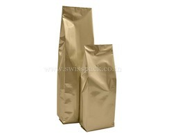 Matt Gold Side Gusset Bags