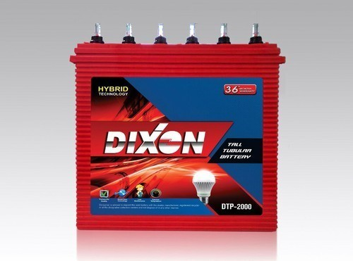 Dixon 36months Tubular Batteries