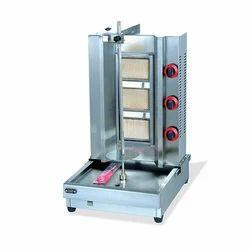 Electric Gas Shawarma Machine for Restaurant, Number Of Gas Burners: 1 Burner