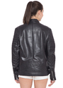 Black Leather Jacket - Women