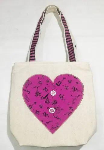 Fancy Cotton Tote Bag