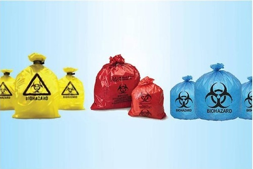 Oxo Bio Degradable Medical Waste Collection Bags