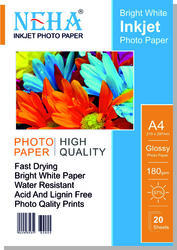 Inkjet Photo Paper (180 GSM)