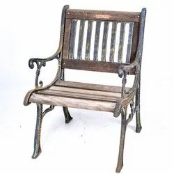 Designer Cast Iron Chair