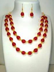 Double Line Necklace