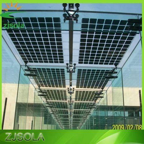 Commercial Aluminium Bipv Solar System Voltage 12 V Rs
